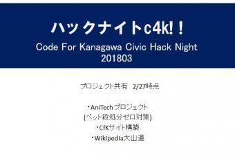 Civic Hack Night May
